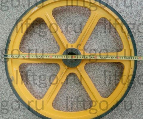 Приводное колесо поручня BLT D=587 мм d=45мм толщина 30мм // Колесо привода поручня BLT