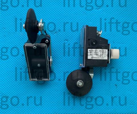 Концевой выключатель HD-1370-J НЗ с роликом d=50мм