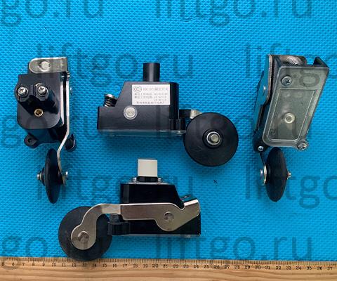 Концевой выключатель HD-1371 НО с роликом d=50мм