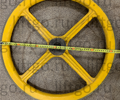 Приводное колесо привода поручня эскалатора Sigma SCE D=630мм d=45мм H=34мм // Колесо привода поручня Sigma