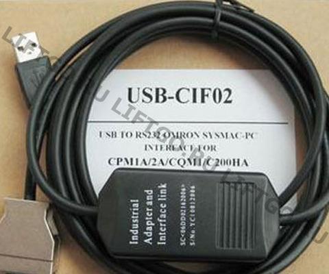 Кабель подключения к контроллеру OMRON USB CIF02
