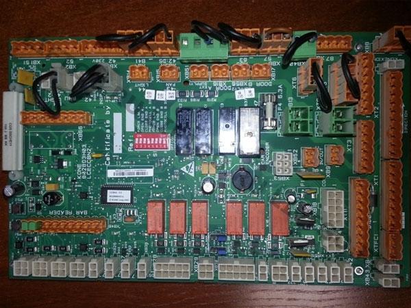 Плата контроллера кабины Kone LCECCBN2