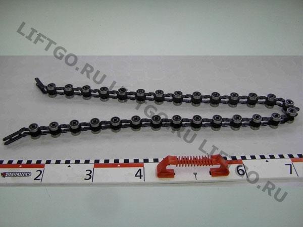 Отклоняющая цепь балюстрады Kone 28 пар роликов R20  / Обводная цепь