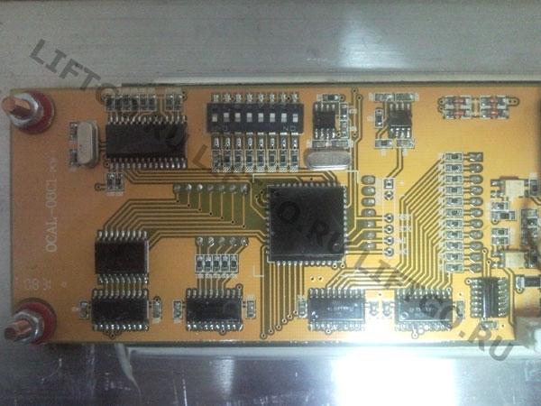 Плата этажная с индикацией BLT OCAL 08C1 PCB