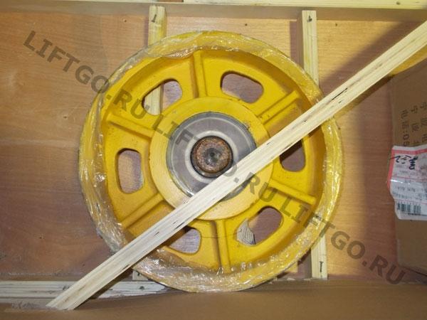 Отводной блок (колесо) лебедки лифта Canny