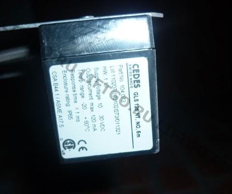 Датчик оптический CEDES GLS 126 NT, NC, HCL 104889