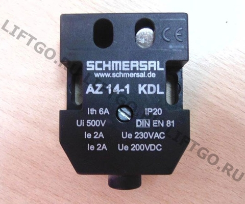 Датчик замка двери (контакт ДК/ДШ) лифта OTIS AZ14-1KDL (AZ13 IP20)