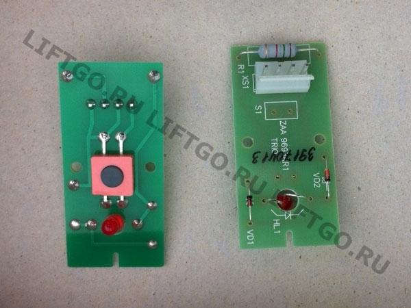 Плата однокнопочного модуля (на контроллер МСS 300) OTIS, ZAA9693AR1