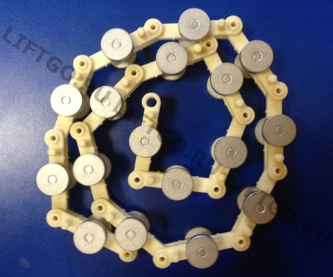 Обводная цепь торца балюстрады OTIS, не обслуживаемая / Цепь роликовая OTIS/ Обводная рейка поручня